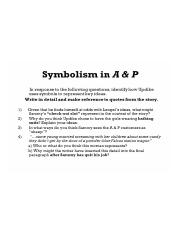 symbolism in a&p by john updike