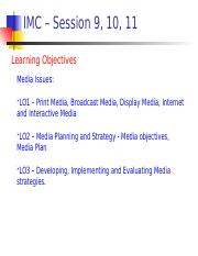 IMC - Session 9, 10, 11 - Media Issues.ppt