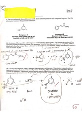 Exam 2, Favorable reactions, Resonance structures,Lewis structures