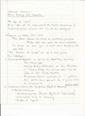 Humanities Lecture Notes Marx Readings and De Tocqueville