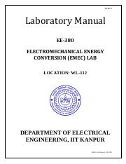 Lab Manual of EE380_EMEC _2015-16-Firstsem