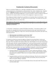 Frankenstein Contextual Documents.docx