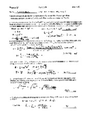 Phys2A-Fall2009-Exam3-Solution