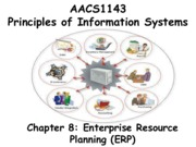 Chapter 8 Enterprise Resource Planning (ERP) - Students 201516