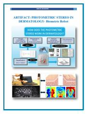 Photometric Stereo- Dermatology- Snehal Bhamare