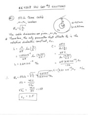 EE4368 HW Set #3 Solutions