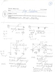 CIVE 300 midterm exam solution