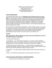 UFDN 2000 Spring Final Exam Study Guide (2)