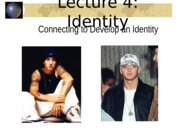 Lecture 4 Social Identity Card Talk