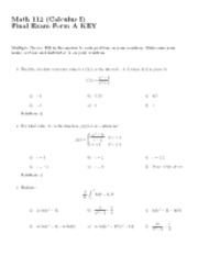 112FinalAW09Solutions