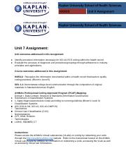 hs320 microbiology unit1 assignment A basic understanding of microscopy assignment 1 kaplan university-microbiology since microorganisms are not visible to the eye, the essential tool in.