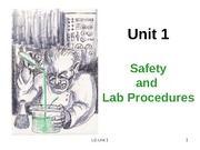 2013-ALC-Unit 1-Safety and Lab Procedures