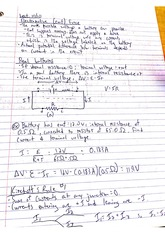 Electromotive Force Notes