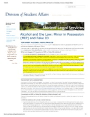 Alcohol and the Law_ Minor in Possession (MIP) and Fake ID _ UC Berkeley_ Division of Student Affair