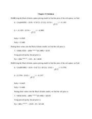 Chapter 23 Solutions