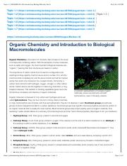 Topic 1.3: MCELLBIX19A-006 Introductory Biology With Lab, Part A