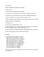 Ch1 Study Guide