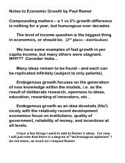 213 SBs notes to Romer on Economic Growth.pdf