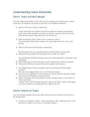 understanding satire worksheet
