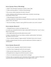 Review Questions biotech test 2