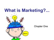 MD211_LECTURE NOTES_2013_1__2_1_Chapter One What is Marketing