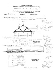 Exam 3 - Fall 2013 _Solution_