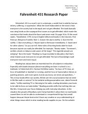 fahrenheit 451 essay hook