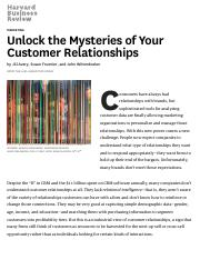 Unlock the Mysteries of Your Customer Relationships.pdf