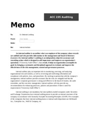 ACC 235 Auditing.docx