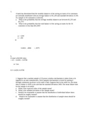 Solutions Handout assignment IV