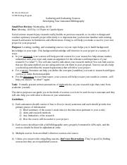 F17 109SS Annotated Bib and Proposal (2).docx