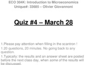 Quiz 4 - March 28 - WITH ANSWERS