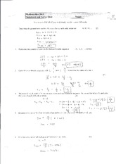 Sequences and Series Quiz