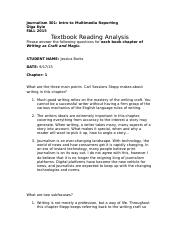 reading analysis 1