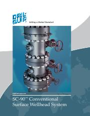 16. SC-90 Conventional Surface Wellhead System