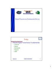 02-Digital Tx Fundamentals Review-revised