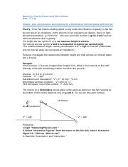 1405- VLab- Acceleration on inclined plane-Interacive Figure 3.6