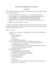 Study Guide for Classical Exam.docx