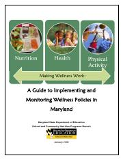 local wellness policy guide
