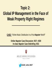 Topic_2_Global IP Management