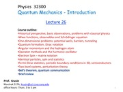 Phys 323 Lecture on Quantum Computing