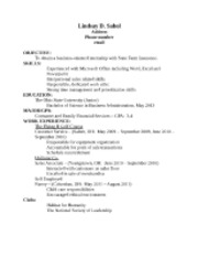 resume comments