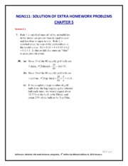 Ch5-NGN111  EXTRA HOMEWORK PROBLEMS