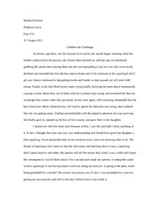 Paper One (Final Draft)
