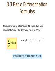 3.3+and+3.4+differentiation+formulas.ppt
