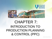 Chapter 7_Introduction to PPC_Week 11