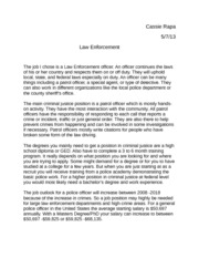 Lawyer research paper