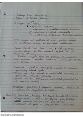 Strain Theory and Cognitive Coping Strategies Notes