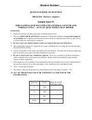 860 SAMPLE B Quiz_1 5-Feb-2016