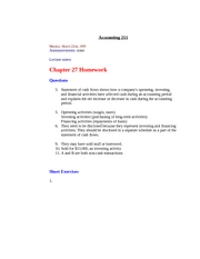 acctg 211 sample exam 1 December 2018 cfa level 1 exam preparation with analystnotes: cfa lev1 december 08, nz, auckland  it's just a revision of acctg211.